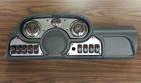 Custom Dashboard Assembly for a Boat Manufacturer